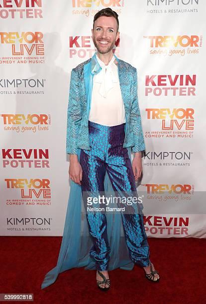Jeffrey Marsh attends The Trevor Project's TrevorLIVE New York on June 13 2016 in New York City
