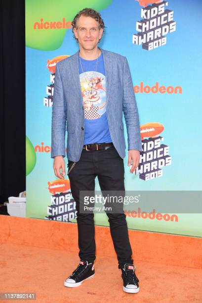 Jeffrey Nicholas Brown attends Nickelodeon's 2019 Kids' Choice Awards at Galen Center on March 23 2019 in Los Angeles California