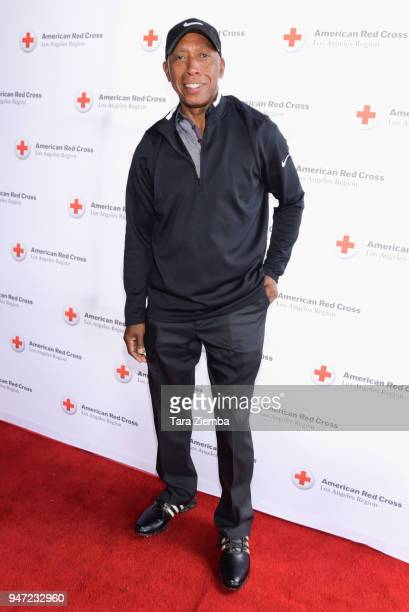 Jeffrey Osborne attends the Red Cross' 5th Annual Celebrity Golf Tournament at Lakeside Golf Club on April 16 2018 in Burbank California