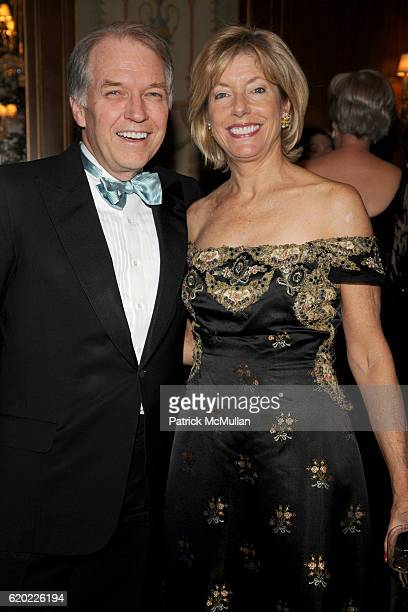 Jeffrey Peek and Liz Peek attend THE PARTNERSHIP WITH CHILDREN Turn of Our Century Centennial Dinner at The Pierre on April 16 2008 in New York City