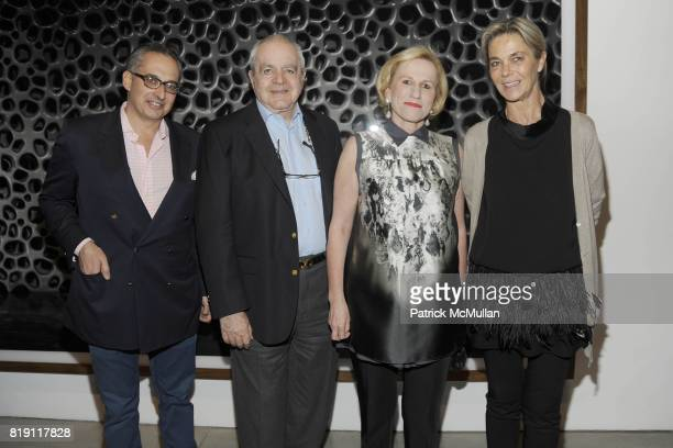 Jeffrey Podolsky Irving Blum Jackie Blum and Nadine Johnson attend LARRY GAGOSIAN hosts the ANDREAS GURSKY Opening Exhibition at GAGOSIAN GALLERY at...