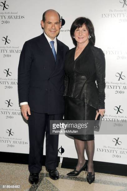 Jeffrey Rosen and Marjorie Rosen attend INTERNATIONAL CENTER OF PHOTOGRAPHY's 25th Annual INFINITY AWARDS at Pier 60 on May 10th 2010 in New York City