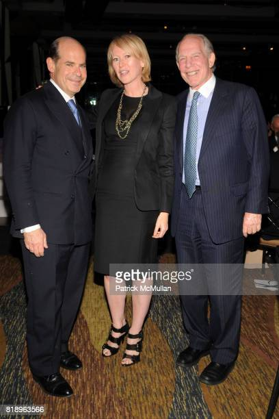 Jeffrey Rosen Joanna Coles and Mickey Straus attend INTERNATIONAL CENTER OF PHOTOGRAPHY's 25th Annual INFINITY AWARDS at Pier 60 on May 10th 2010 in...