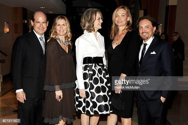 Jeffrey Rosen Kim Vernon Diane Keaton Pamela Stedman Farkas and Jed Root attend INTERNATIONAL CENTER OF PHOTOGRAPHY's 24th Annual INFINITY AWARDS at...