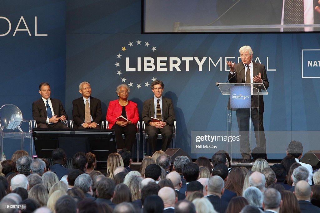 2015 Liberty Medal Ceremony : News Photo