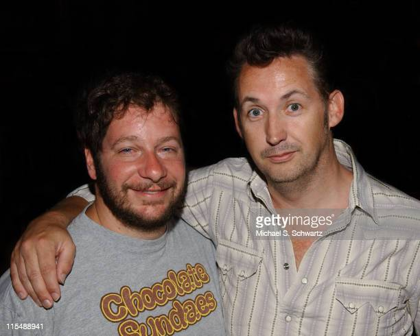 Jeffrey Ross and Harland Williams during Collegehumorcom Presents Comedy Juice Starring Harland Williams at The Hollywood Improv in Los Angeles...