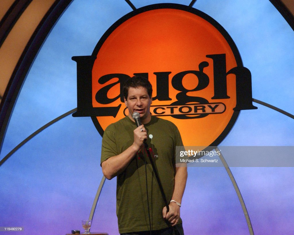 Gary Gulman, Jeffrey Ross and Finesse Mitchell Perform at the Laugh Factory -