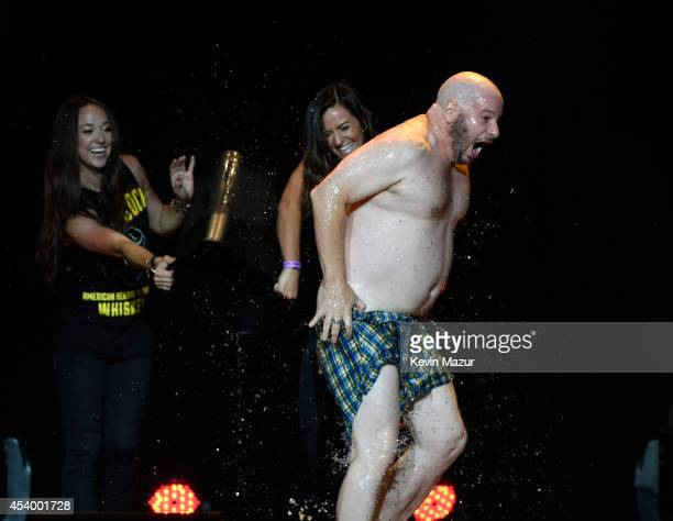 Jeffrey Ross performs onstage during The Oddball Comedy & Curiosity Festival at Nikon at Jones Beach Theater on August 22, 2014 in Wantagh, New York.
