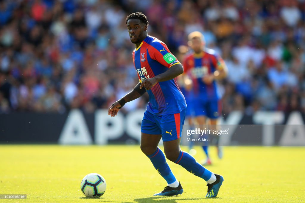 Jeffrey Schlupp of Crystal Palace during the Pre-Season Friendly between Crystal Palace and Toulouse at Selhurst Park on August 4, 2018 in London, England.