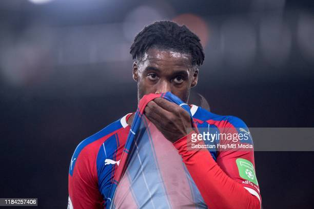 Jeffrey Schlupp of Crystal Palace reaction during the Premier League match between Crystal Palace and Liverpool FC at Selhurst Park on November 23...