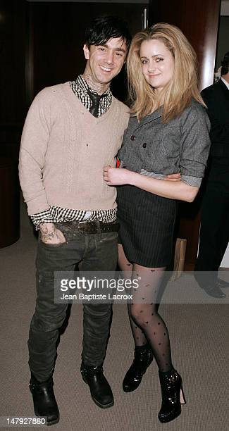 Jeffrey Sebelia and Kristeen Johnson during Mariel Hemingway Signs Copies of Her Book 'Healthy Living From The Inside Out' January 19 2007 at Private...