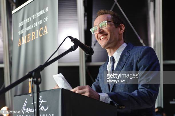 Jeffrey Seller attends the HAMILTON THE EXHIBITION WORLD PREMIERE at Northerly Island on April 26 2019 in Chicago Illinois