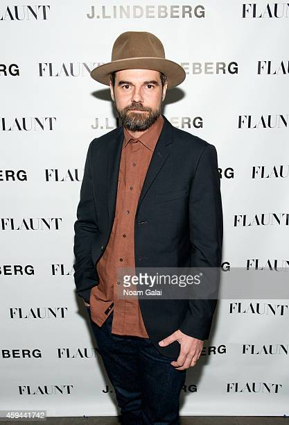 Jeffrey Shagawat attends the Celebration of Chris Pine's cover of Flaunt Magazine at Beautique on November 22 2014 in New York City