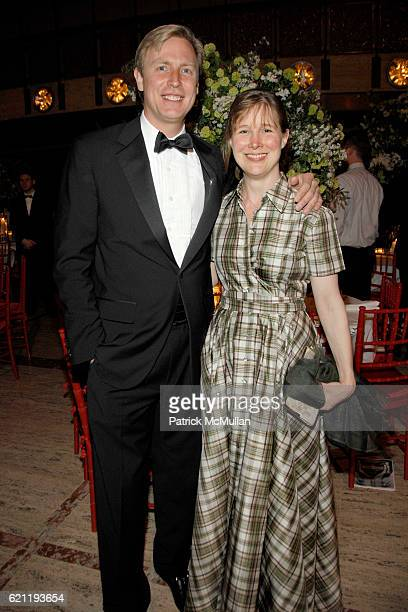 Jeffrey Sharp and Ann Patchett attend Literacy Partners Hosts Annual Gala An Evening of Readings Honoring David and Julia Koch at Lincoln Center on...