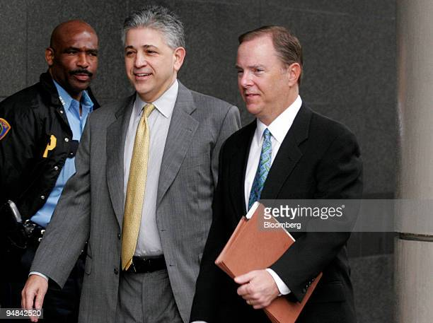 Jeffrey Skilling right Former Enron Corp president and chief executive officer arrives at the Bob Casey Federal Courthouse with his lead trial...