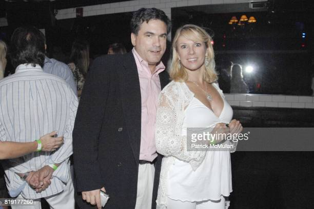 Jeffrey Slomin and Ramona Singer attend Nic Roldan Shamin Abas and Tracy Mourning Host Hamptons Social Series Dinner For St Jude's at Lily Pond on...