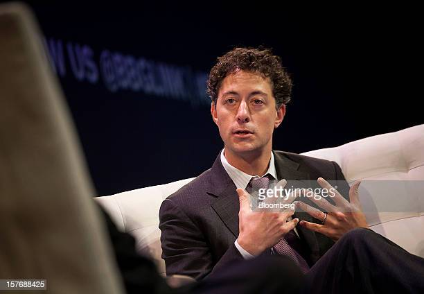Jeffrey Smith, chief executive officer and chief investment officer at Starboard Value LP, speaks during the Bloomberg Hedge Funds Summit in New...