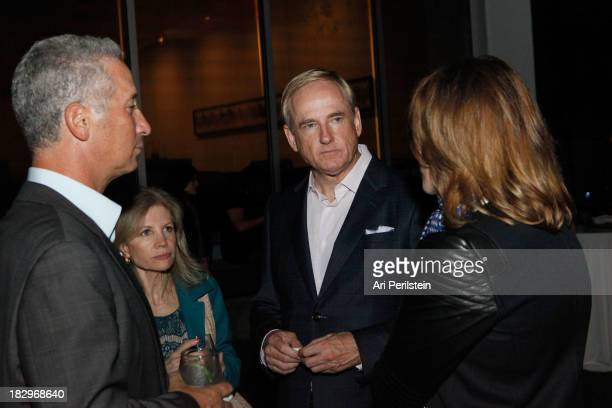 Jeffrey Soros Jennifer Maguire Stephen Maguire and LA Confidential Publisher Alison Miller attend Los Angeles Confidential And Merrrill Lynch Wealth...