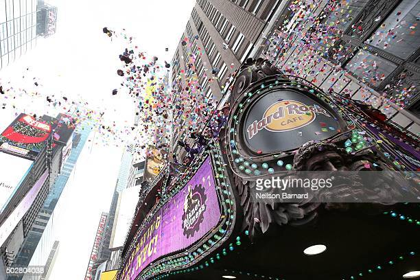 Jeffrey Straus President of Countdown Entertainment and CoProducer of New Year's Eve and Tim Tompkins President Times Square Alliance and CoProducer...