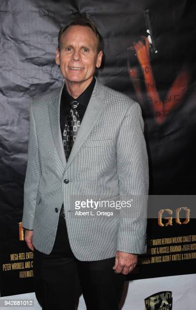 Jeffrey T Ferguson arrives for the Los Angeles Premiere of 'Miles To Go' held at Writers Guild Theater on April 5 2018 in Beverly Hills California