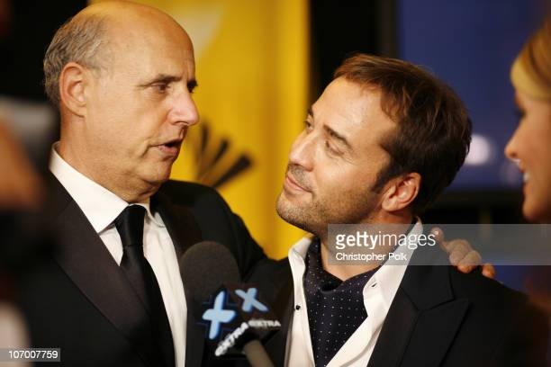 "Jeffrey Tambor and Jeremy Piven, winner Outstanding Supporting Actor In A Comedy Series for ""Entourage"""