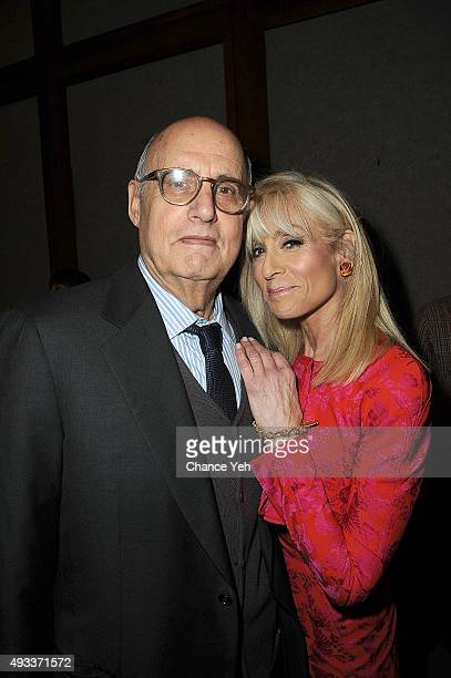 Jeffrey Tambor and Judith Light attend PaleyFest New York 2015 Transparent at The Paley Center for Media on October 19 2015 in New York City