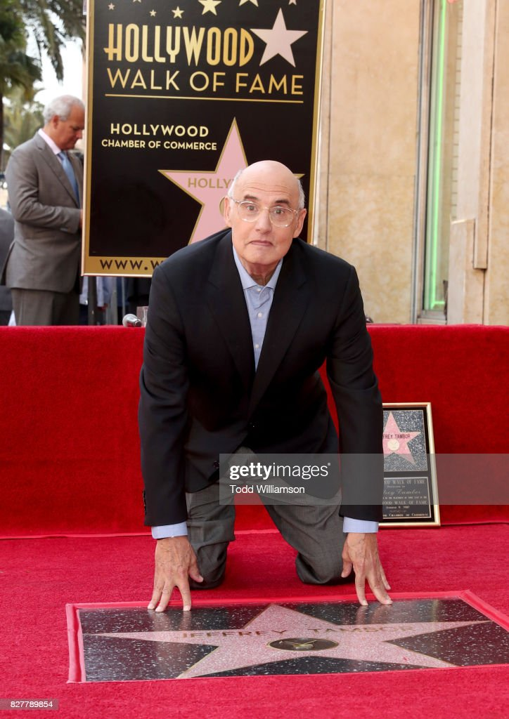 Jeffrey Tambor, Star Of The Amazon Prime Video Series Transparent, Is Honored With A Star On The Hollywood Walk Of Fame