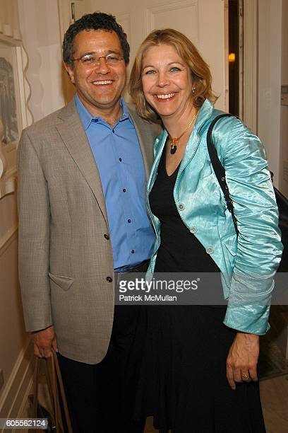 Jeffrey Toobin and Amy McIntosh attend Tina Brown and Harry Evans Hosts a dinner for Al Gore's Film and Book AN INCONVENIENT TRUTH about Global...