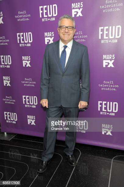 Jeffrey Toobin attends 'Feud' Tastemaker lunch at The Rainbow Room on February 14 2017 in New York City