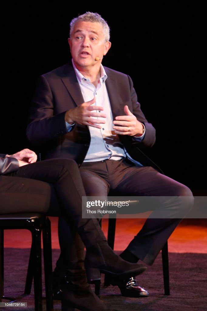The 2018 New Yorker Festival - Sally Yates In Conversation With The New Yorker's Jeffrey Toobin : News Photo