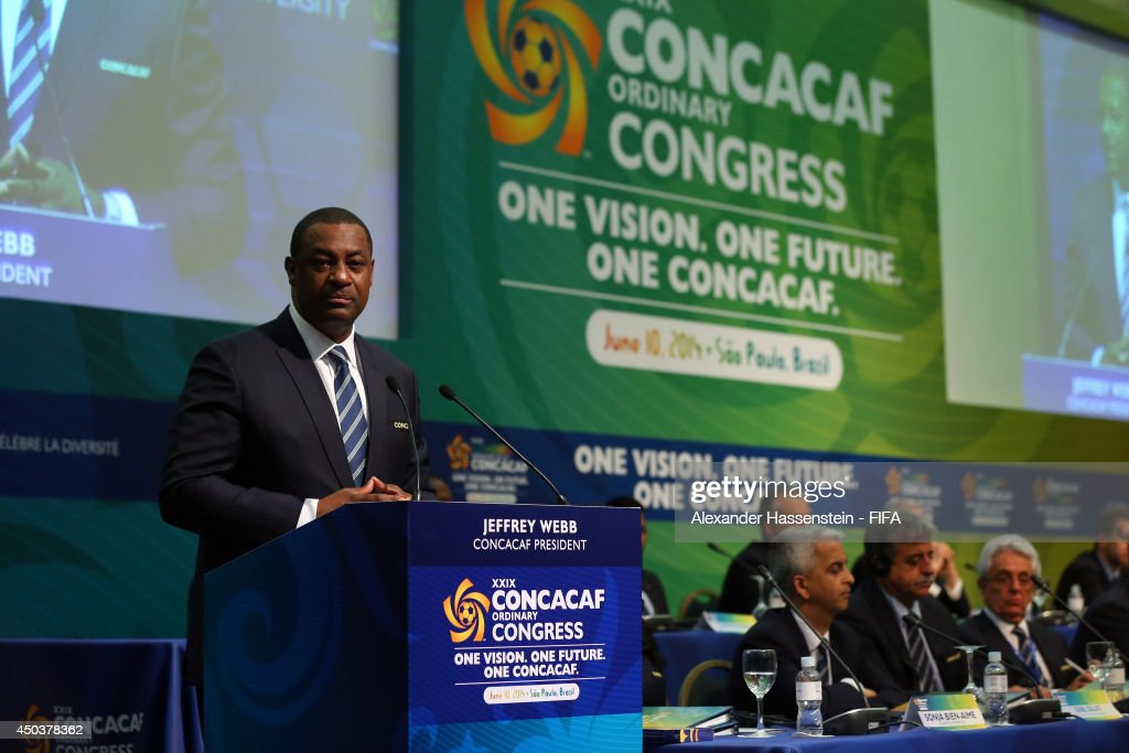 FIFA President Attends Confederations Meetings - 64th FIFA Congress : News Photo