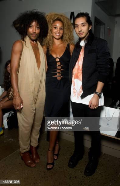 Jeffrey Williams Jillian HerveyÊIan Milan attends The Blonds during MADE Fashion Week Spring 2015 at Milk Studios on September 10 2014 in New York...