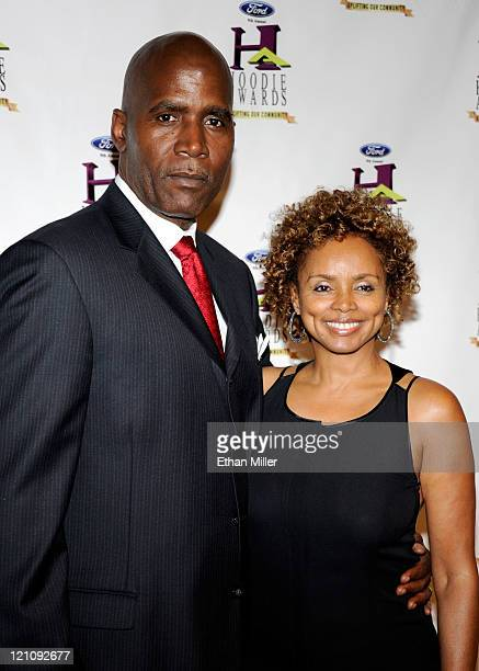 Jeffrey Winston and actress Debbi Morgan arrive at the ninth annual Ford Hoodie Awards at the Mandalay Bay Events Center August 13 2011 in Las Vegas...