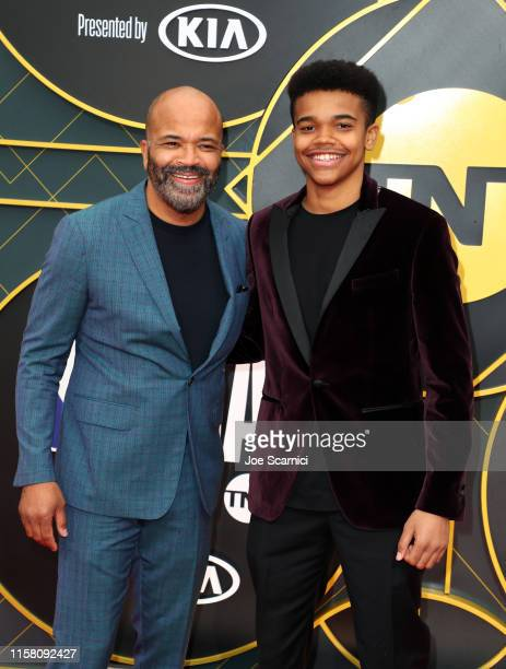 Jeffrey Wright and Elijah Wright attends the 2019 NBA Awards presented by Kia on TNT at Barker Hangar on June 24 2019 in Santa Monica California