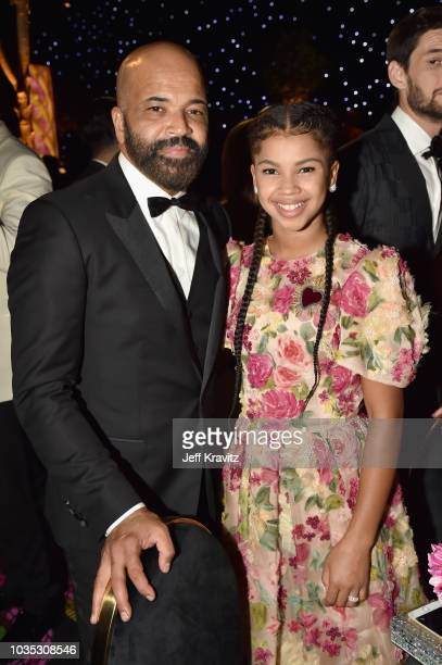 Jeffrey Wright and Juno Wright attend HBO's Official 2018 Emmy After Party on September 17 2018 in Los Angeles California