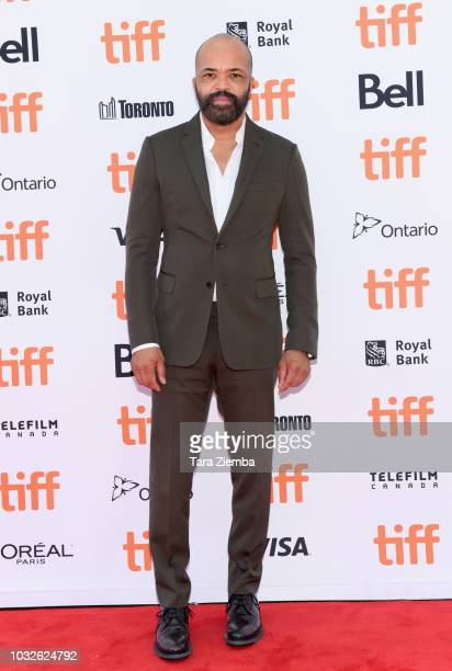 Jeffrey Wright attend the premiere of 'Hold The Dark' during the 2018 Toronto International Film Festival at Princess of Wales Theatre on September...