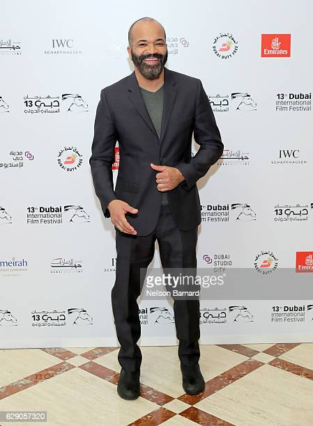 Jeffrey Wright attends an 'In Conversation' during day five of the 13th annual Dubai International Film Festival held at the Madinat Jumeriah Complex...