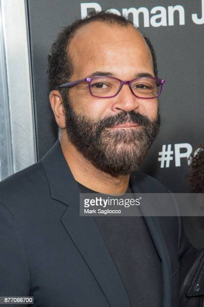 Jeffrey Wright attends the 'Roman J Israel Esquire' New York Premiere at Henry R Luce Auditorium at Brookfield Place on November 20 2017 in New York...