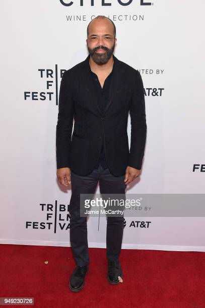 Jeffrey Wright attends the screening of OG during the Tribeca Film Festival at SVA Theatre on April 20 2018 in New York City