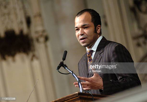 Jeffrey Wright during The Realizing the Dream Martin Luther King Jr Tribute January 15 2006 at Riverside Church in New York City New York United...