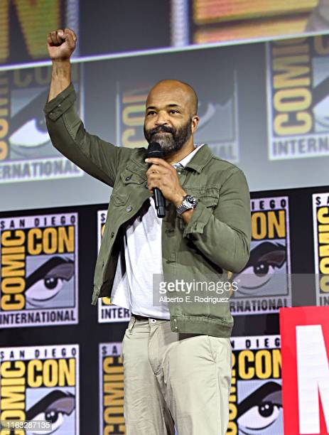 Jeffrey Wright of Marvel Studios' 'What If' at the San Diego ComicCon International 2019 Marvel Studios Panel in Hall H on July 20 2019 in San Diego...
