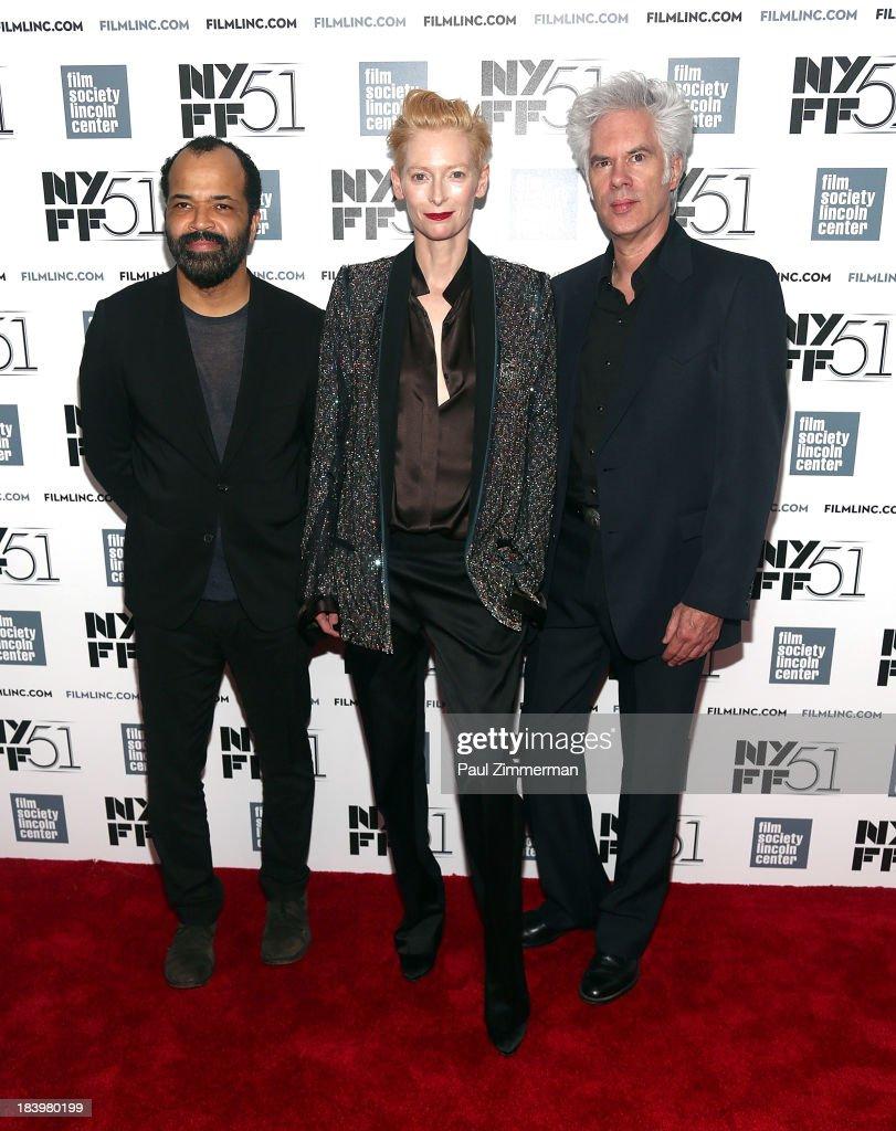 "51st New York Film Festival - ""Only Lovers Left Alive"" Premiere"