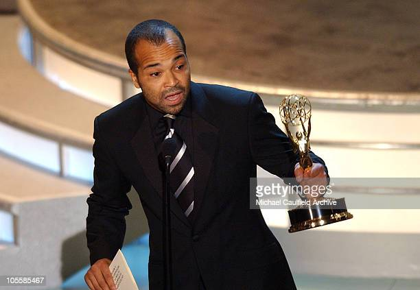 Jeffrey Wright winner of Outstanding Supporting Actor in a Miniseries or a Movie for Angels in America