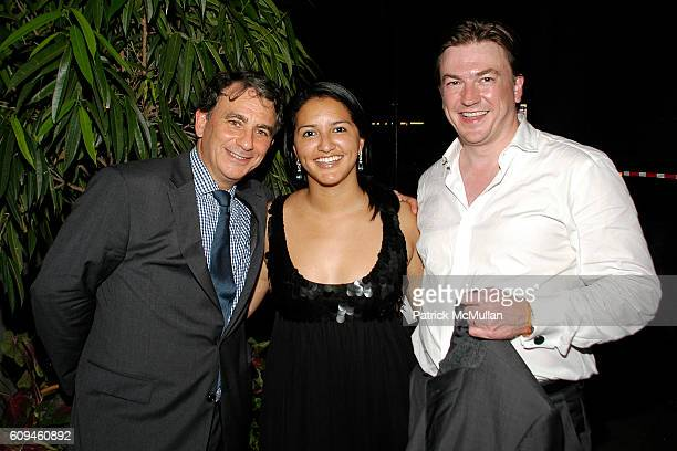 Jeffry Leeds Anna Kennedy and Matthew Doull attend PEGGY SIEGAL'S Birthday Celebration at Hotel Plaza Athenee on June 26 2007 in New York City