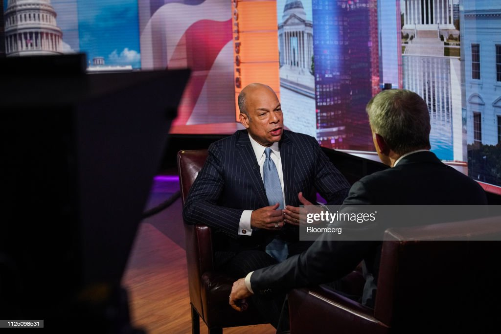 NY: Former Secretary Of Homeland Security Jeh Johnson Interview