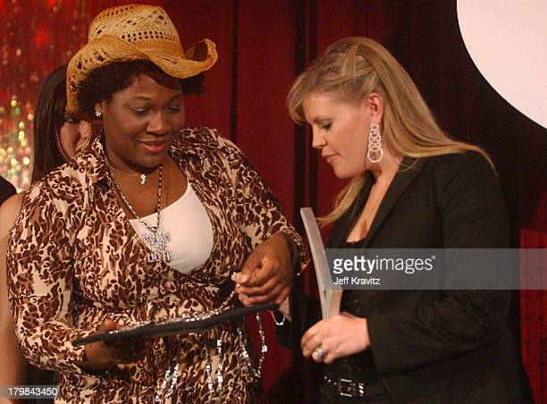Jehmu Greene and Natalie Maines during The 11th Annual Rock the Vote Awards Show and After Party at The Palladium in Hollywood California United...