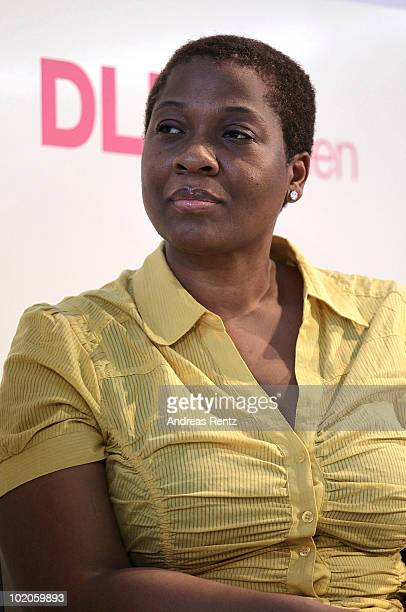 Jehmu Greene attends the Digital Life Design women conference at the Centre for New Technologies at Deutsches Museum on June 11 2010 in Munich...