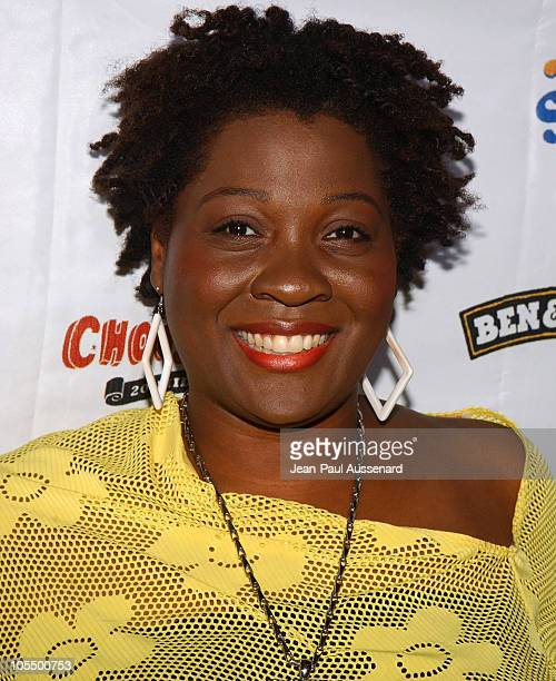 Jehmu Greene during Rock The Vote 2004 National Bus Tour Concert Arrivals at Avalon in Hollywood California United States