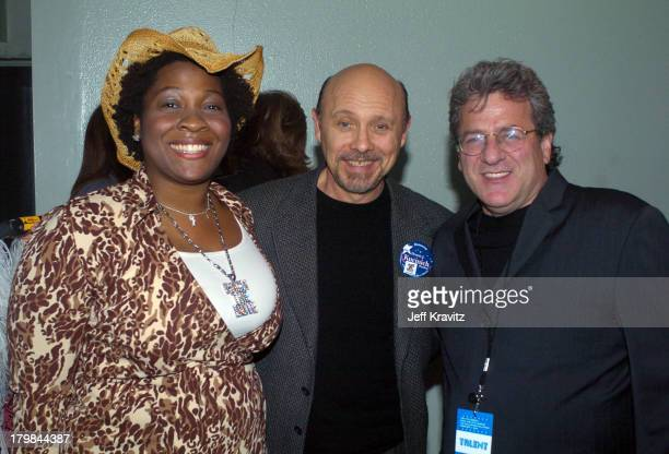 Jehmu Greene Hector Elizondo and Rob Foos during The 11th Annual Rock the Vote Awards Show and After Party at The Palladium in Hollywood California...