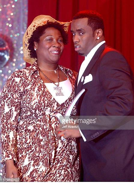 Jehmu Greene president of Rock The Vote and Sean P Diddy Combs